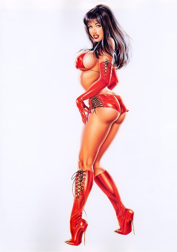 Сексуальные анимации на телефон 12 фотография